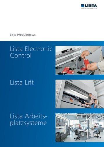 Lista Lift - lagerform