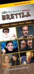 Kabarett • Comedy • Musik • Theater www ... - Das Eich
