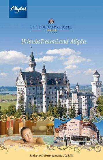 UrlaubsTraumLand Allgäu - Treff Hotel Luitpoldpark