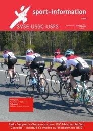 Ausgabe 03/2008 - SVSE Schweiz. Sportverband öffentlicher Verkehr