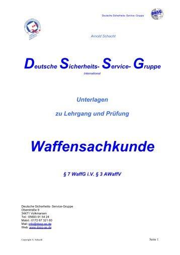 DSSG-Sachkundelehrgang