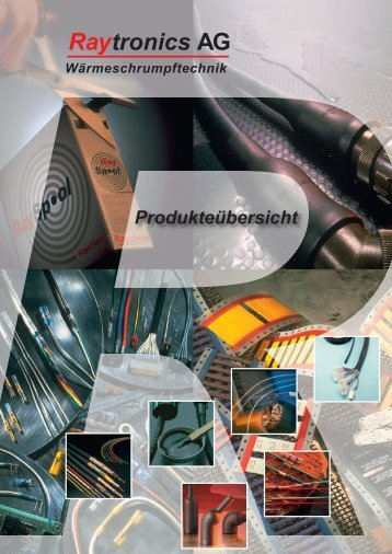 Raytronics Produkteübersicht als PDF Downloaden - Raytronics AG