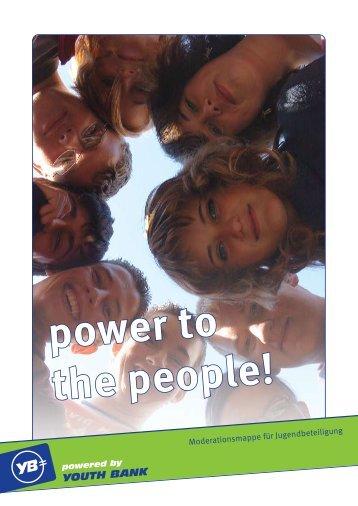 Moderationsmappe für Jugendbeteiligung - Youth Bank