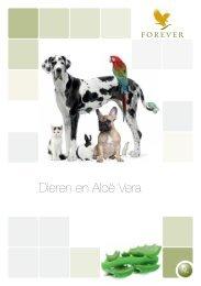 Dieren en Aloë Vera - Aloeveravoormensendier