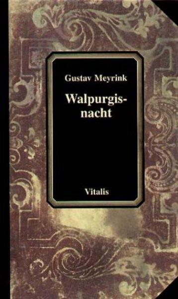 Gustav Meyrink Walpurgisnacht - Esonet.org