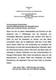 Ansprache Graf von Schwerin - Stiftung 20. Juli 1944