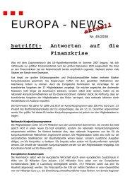 ENA 45 - Antworten auf Finanzkrise - Ulrich Stockmann