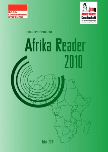 Afrika Reader 2010 - Rosa-Luxemburg-Stiftung