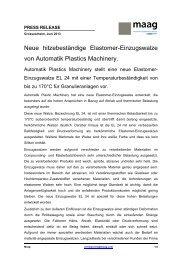 Neue hitzebeständige Elastomer-Einzugswalze von ... - PSG Dover