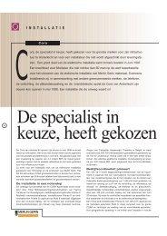 De specialist in keuze, heeft gekozen - Schneider Electric België