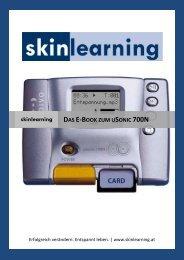 Gratis eBook zum uSonic - skinlearning