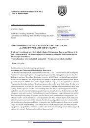 SCHNELLINFO: Kritik des Vorschlags durch drei finanzstärksten ...