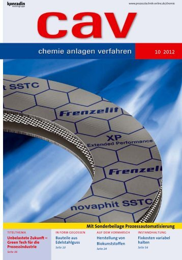 Dichtung mit erweiterter Performance - Frenzelit Werke GmbH
