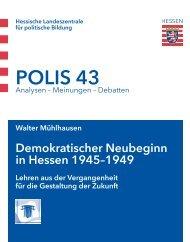 POLIS 43 - Hessische Landeszentrale für politische Bildung