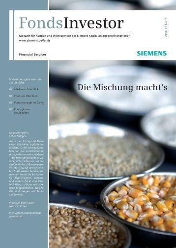 FondsInvestor - Financial Services - Siemens