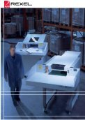 The sturdy technology of the Rexel 5500 series is designed ... - Page 3