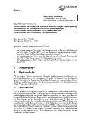 Botschaft Teilrevision des Baureglements im Bereich ... - Kreuzlingen