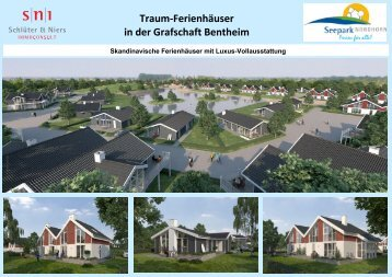 Traum-Ferienhäuser in der Grafschaft Bentheim - Fewo und Meer