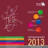 Jahresprogramm - Schwäbisches Volkskundemuseum ...