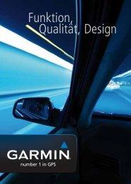 Funktion, Qualität, Design - Garmin