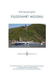 FLUSSFAHRT MOLDAU - Hamburgische Seehandlung