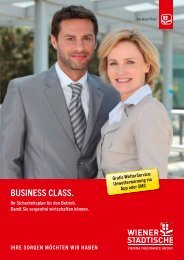 zum Business Class Folder - Wiener Städtische