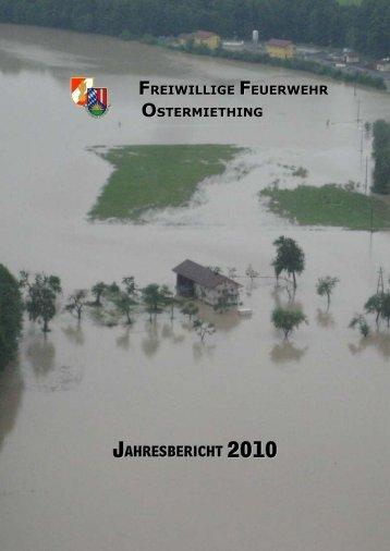 Jahresbericht 2010 - Feuerwehr Ostermiething