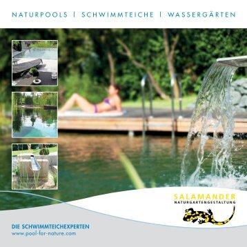 naturpools | schwimmteiche | wassergärten - Salamander-garten.ch