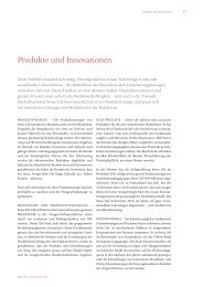 Produkte und Innovationen - Annual Report 2012 - Swiss Life