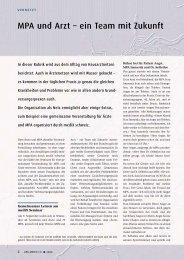Artikel Ars Medici 21/2006 (PDF / 135 KB) - mediX schweiz