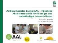 Ambient Assisted Living (AAL) - Häusliche ... - VitaBIT