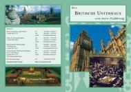 BRITISCHE UNTERHAUS - Parliament