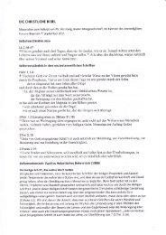 DIE CHRISTLICHE BIBEL Selbstverständnis Jesu Lk2,46-47 ... - GSIW