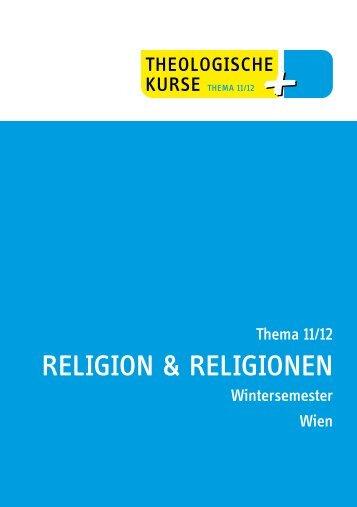 Thema Auszug WS 2011 - Peter Zeillinger