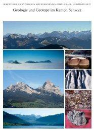 Geologie und Geotope im Kanton Schwyz - Schwyzerische ...