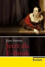 Leseproben Jane Austen E-Book - Reclam