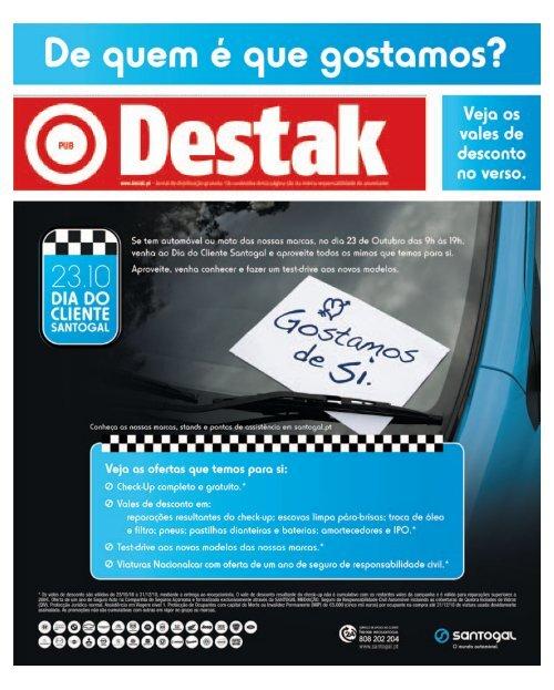 20-10-2010 (Lisboa) - Destak