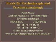 Vortrag Psychopharmaka.pdf - Praxis für Psychotherapie und ...