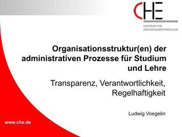 Voegelin, Organisationsstrukturen Administration ... - Hochschulkurs
