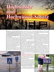 Hochwasser-Schutz - pro umwelt
