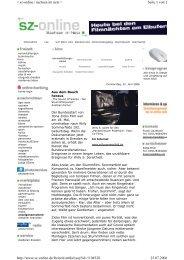 Seite 1 von 2 < sz-online | sachsen im netz > 25.07.2006 http://www ...