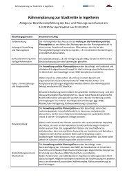 Eckwertebeschluss März 2010 - Stadtmitte Ingelheim