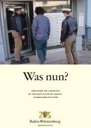 Was nun? - Polizei Baden-Württemberg