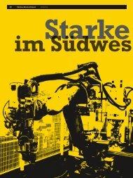 Wirtschaftsblatt 2/13 20 Südwestdeutschland Industrie - GRMN