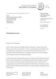 Prof. Dr. Hubertus Buchstein - Ernst-Moritz-Arndt-Universität ...