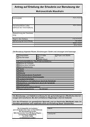 Antrag auf Benutzung der MZH Maselheim
