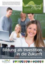 Bildung als Investition in die Zukunft - Wirtschaftsplattform ...