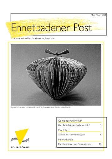 Ennetbadener Post - Passform