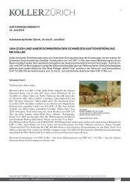 Nachbericht - Koller Auktionen