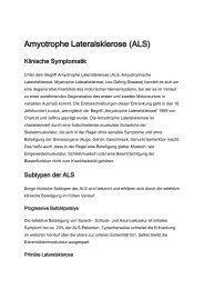 Amyotrophe Lateralsklerose (ALS) - Krankenhaus Rummelsberg
